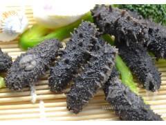 威宝獐子岛三级半干海参60-80头/500g拉缸盐海参