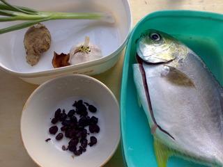 陈皮鼓汁蒸鲳鱼