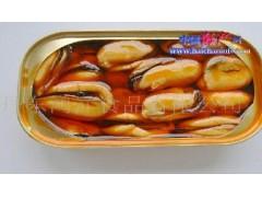 供应红油贻贝肉罐头