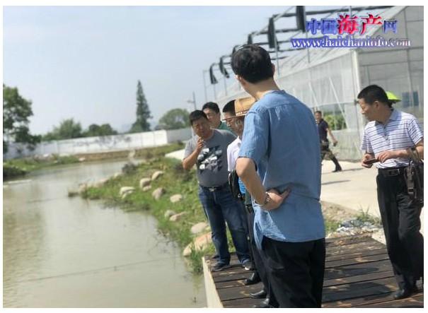 湖南省再次赴德清考察学习渔业养殖尾水
