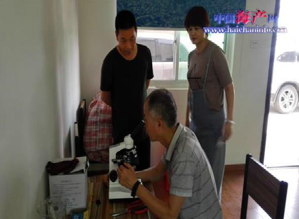 浙江湖州市水产站专家指导育繁推一体化