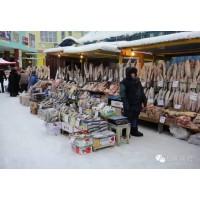西伯利亚雅库特鱼市