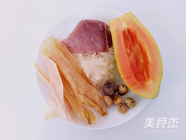 木瓜响螺花胶汤(炖)#胆.敢不同,美的原