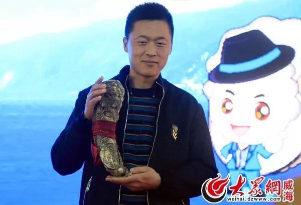 第四届乳山(国际)牡蛎文化节惊现3米千斤牡蛎海鲜大锅!3.12斤牡蛎王!还有..