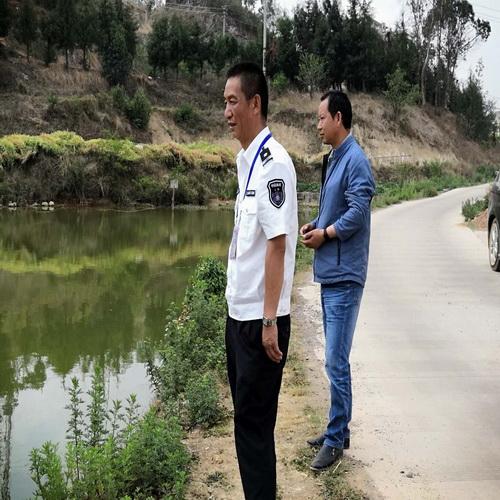 云南昆明晋宁区水产站认真做好旱季水产技术指导工作