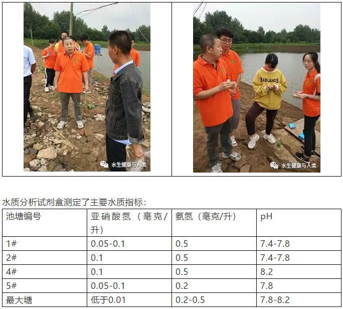 三下乡滁州支渔:池塘水质不良和草鱼青鱼肠炎的处理建议