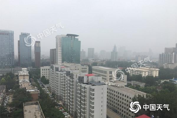 台风利奇马影响!河北周末强降雨不断 局地暴雨