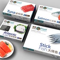 提供水产海鲜品牌包装设计服务