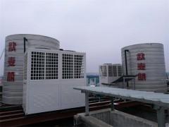 养殖淡水鱼循环式空气源机组 养殖专用恒温设备