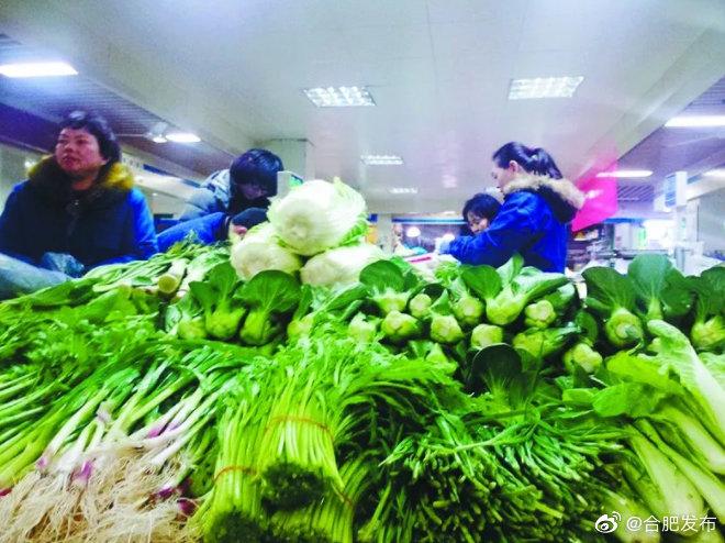 合肥最大零售菜市场升级改造
